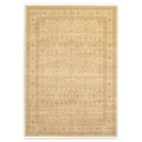 Unique Loom Aurinia Heritage 7' X 10' Powerloomed Area Rug in Cream