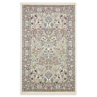 Unique Loom Bristol Nain Design 5' X 8' Powerloomed Area Rug in Ivory