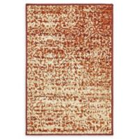 Unique Loom Harvest Traditions 2' X 3' Powerloomed Area Rug in Terracotta