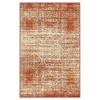 Unique Loom Harvest Traditions 5' X 8' Powerloomed Area Rug in Terracotta
