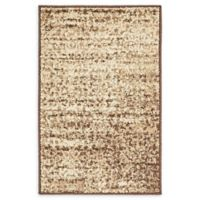 Unique Loom Harvest Traditions 2' X 3' Powerloomed Area Rug in Beige