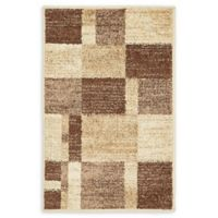 Unique Loom Harvest Providence 2' X 3' Powerloomed Area Rug in Light Brown