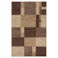 Unique Loom Harvest Providence 5' X 8' Powerloomed Area Rug in Light Brown