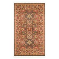 "Unique Loom Larkspur Heritage 3'3"" X 5' Powerloomed Area Rug in Light Brown"