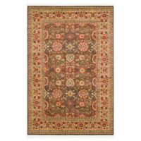 Unique Loom Larkspur Heritage 7' X 10' Powerloomed Area Rug in Light Brown