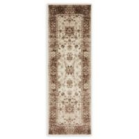 Unique Loom Himalaya Lincoln 6' Runner Powerloomed in Cream