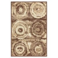 Unique Loom Harvest Wheat 2' X 3' Powerloomed Area Rug in Tan