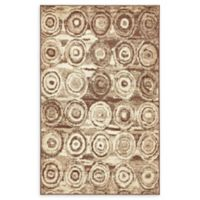 Unique Loom Harvest Wheat 5' X 8' Powerloomed Area Rug in Tan