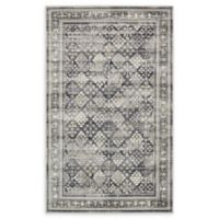 Unique Loom Holly Cambridge 5' X 8' Powerloomed Area Rug in Dark Gray