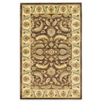 Unique Loom Hickory Agra 5' X 8' Powerloomed Area Rug in Brown
