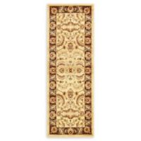"""Unique Loom Hickory Agra 2'2"""" X 6' Runner Powerloomed in Cream"""