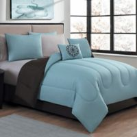 Avondale Manor Medallion 9-Piece Reversible Queen Comforter Set