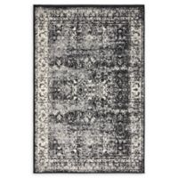Unique Loom Istanbul Bosphorus 4' X 6' Powerloomed Area Rug in Light Gray