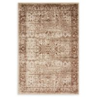 Unique Loom Istanbul Bosphorus 4' X 6' Powerloomed Area Rug in Cream