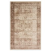 Unique Loom Istanbul Bosphorus 5' X 8' Powerloomed Area Rug in Cream