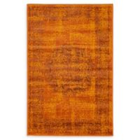 Unique Loom Istanbul Cypress 2' X 3' Powerloomed Area Rug in Terracotta