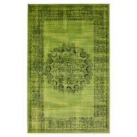 Unique Loom Istanbul Cypress 5' X 8' Area Rug in Sage Green