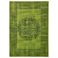 Unique Loom Istanbul Cypress 7' X 10' Area Rug in Sage Green