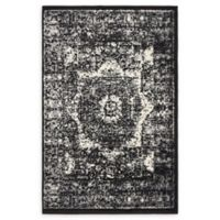 Unique Loom Istanbul Lygos 2' X 3' Powerloomed Area Rug in Light Gray