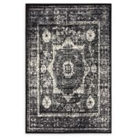 Unique Loom Istanbul Lygos 4' X 6' Powerloomed Area Rug in Light Gray