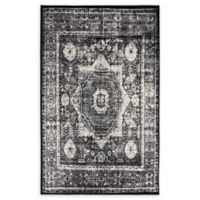 Unique Loom Istanbul Lygos 5' X 8' Powerloomed Area Rug in Light Gray