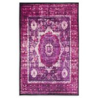 Unique Loom Istanbul Lygos 5' X 8' Powerloomed Area Rug in Lilac