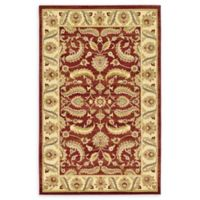 Unique Loom Hickory Agra 5' X 8' Powerloomed Area Rug in Red