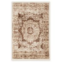 Unique Loom Istanbul Lygos 2' X 3' Powerloomed Area Rug in Dark Beige