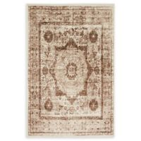 Unique Loom Istanbul Lygos 4' X 6' Powerloomed Area Rug in Dark Beige