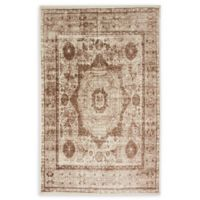 Unique Loom Istanbul Lygos 5' X 8' Powerloomed Area Rug in Dark Beige