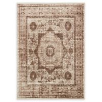 Unique Loom Istanbul Lygos 7' X 10' Powerloomed Area Rug in Dark Beige