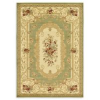 Unique Loom Henry Versailles 7' X 10' Powerloomed Area Rug in Green
