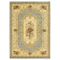 Unique Loom Henry Versailles 7' X 10' Powerloomed Area Rug in Light Blue