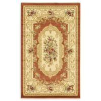 "Unique Loom Henry Versailles 3'3"" X 5' Powerloomed Area Rug in Brick Red"