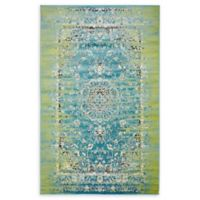Unique Loom Istanbul Sultan 5' X 8' Powerloomed Area Rug in Blue