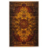 Unique Loom Istanbul Sultan 2' X 3' Powerloomed Area Rug in Yellow