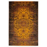 Unique Loom Istanbul Sultan 4' X 6' Powerloomed Area Rug in Yellow