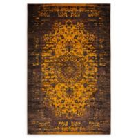 Unique Loom Istanbul Sultan 5' X 8' Powerloomed Area Rug in Yellow