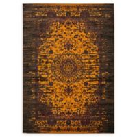Unique Loom Istanbul Sultan 7' X 10' Powerloomed Area Rug in Yellow