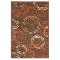 Unique Loom Harvest Cornucopia 2' X 3' Powerloomed Area Rug in Brown