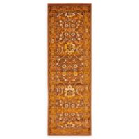 Unique Loom Istanbul Ottoman 6' Runner Powerloomed in Chocolate Brown