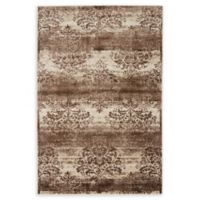 Unique Loom Himalaya Grant 4' X 6' Powerloomed Area Rug in Dark Beige