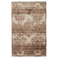 Unique Loom Himalaya Grant 5' X 8' Powerloomed Area Rug in Dark Beige