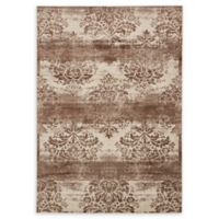 Unique Loom Himalaya Grant 7' X 10' Powerloomed Area Rug in Dark Beige