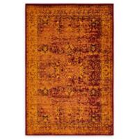 Unique Loom Istanbul Bosphorus 4' X 6' Powerloomed Area Rug in Red