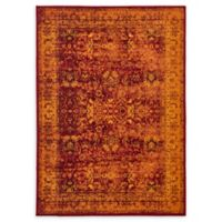 Unique Loom Istanbul Bosphorus 7' X 10' Powerloomed Area Rug in Red