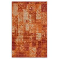 Unique Loom Harvest Plymouth 5' X 8' Powerloomed Area Rug in Terracotta