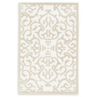 Unique Loom Himalaya Johnson 2' X 3' Powerloomed Area Rug in Snow White
