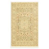 "Unique Loom Jackson Palace 3'3"" X 5' Powerloomed Area Rug in Light Green"