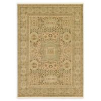 Unique Loom Jackson Palace 7' X 10' Powerloomed Area Rug in Light Green